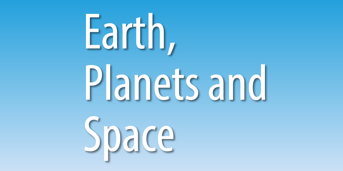 Earth, Planets and Space (EPS誌)